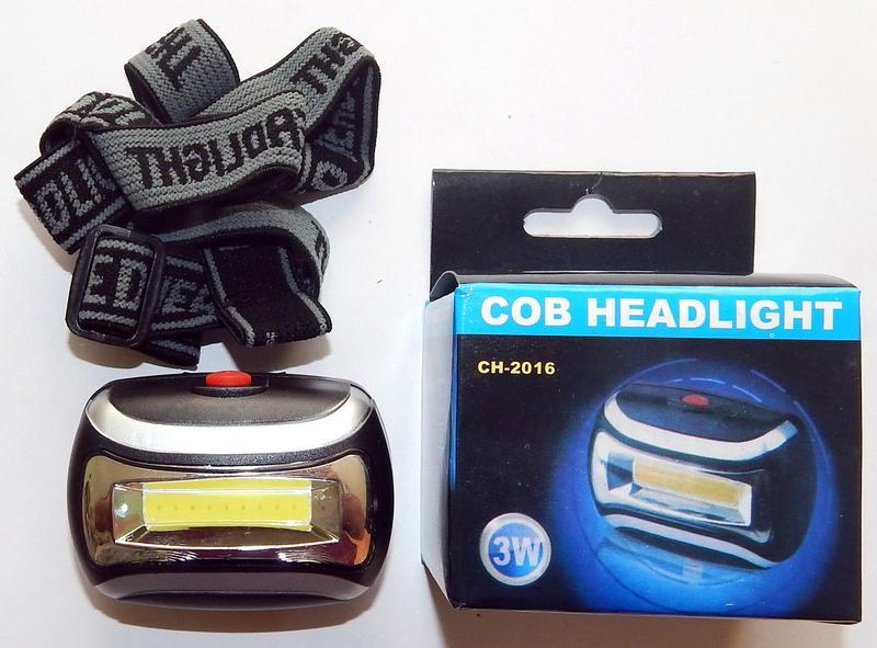 Налобный фонарик светодиодный  LED CH-2016 - Фото 5