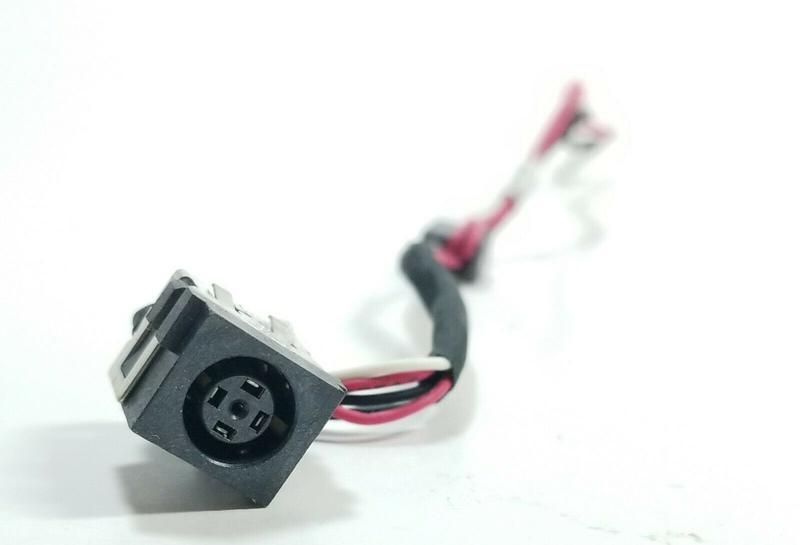 Разъем питания Dell P28F P 28 F гнездо с кабелем роз'єм живлення