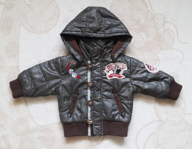Крута куртка-вітрівка на 6 міс хлопчику