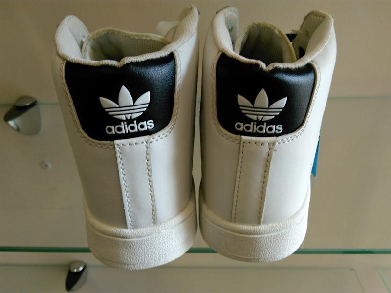 Высокие белые кроссовки ботинки 37 - Фото 6