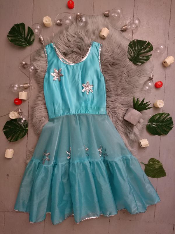 Карнавальное платье из органзы