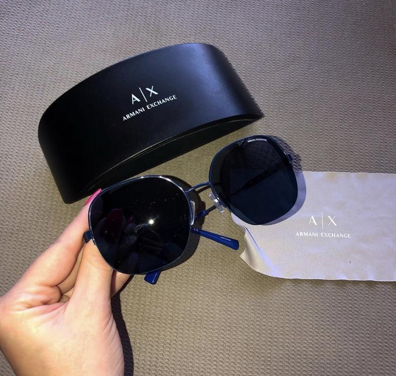 Солнцезащитные очки, армани, armani exchange