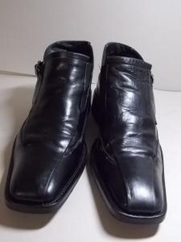 """Чехия!кожаные ботинки """"вata"""" 40р(27 см).отличное состояние! - Фото 2"""