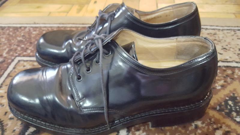 Неубиваемые кожаные ботинки пр-ва: италия! 8.5р 27.7 см - Фото 2