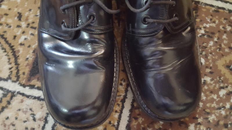 Неубиваемые кожаные ботинки пр-ва: италия! 8.5р 27.7 см - Фото 3