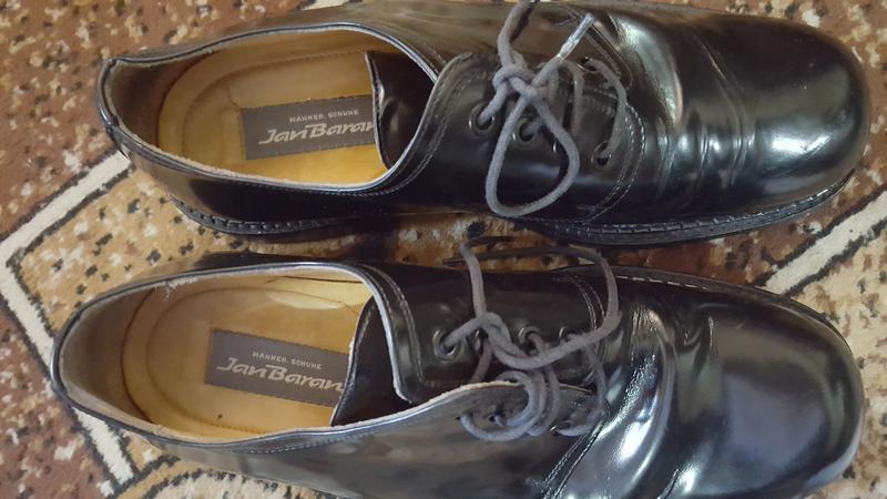 Неубиваемые кожаные ботинки пр-ва: италия! 8.5р 27.7 см - Фото 5