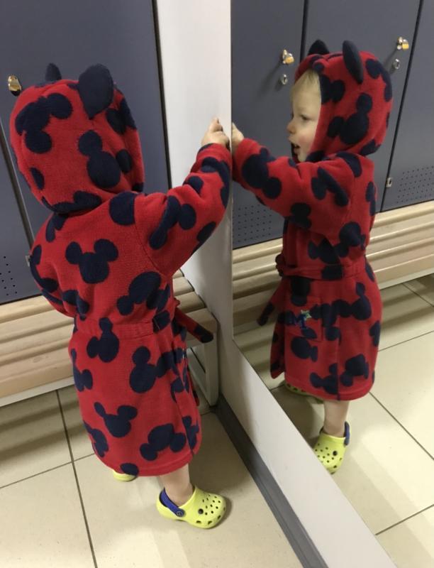 Халат детский disney на 2-3 года