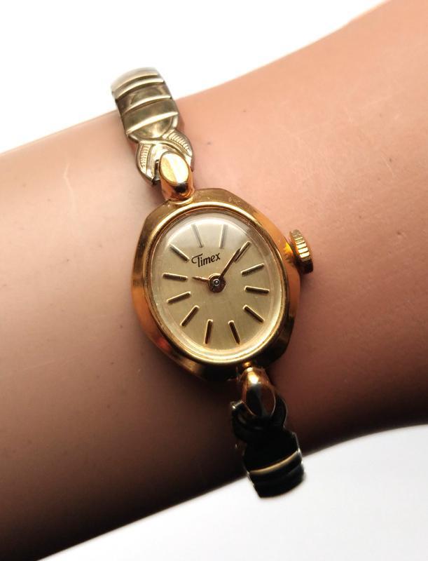 Timex винтажные механические часы из сша сборка philippines