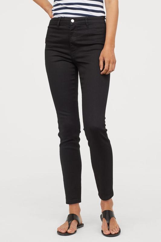 Женские джинсы с высокой посадкой  skinny h&m, 30, 31, 32, 33 ...