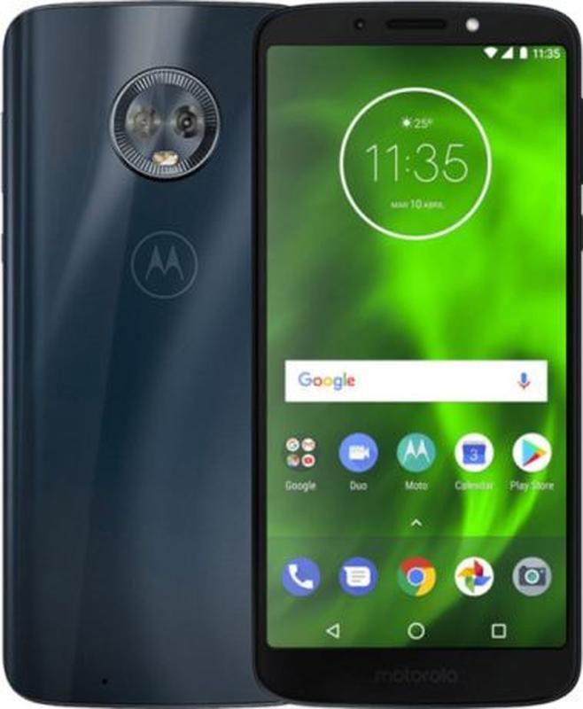 Motorola Moto 1S (G6) 4GB/64GB BLUE Чехол в подарок Наложка