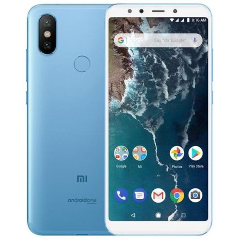 Xiaomi Mi A2 4Gb/64Gb 5.99'' BLUE Полная версия Наложка