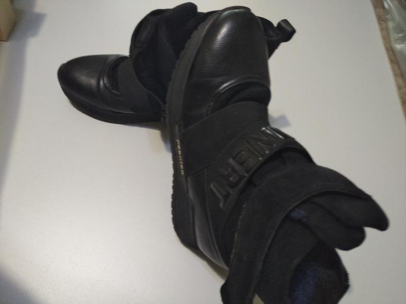 Ботинки зимние женские с  искус. мехом .Размер 40.Цвет черный - Фото 3