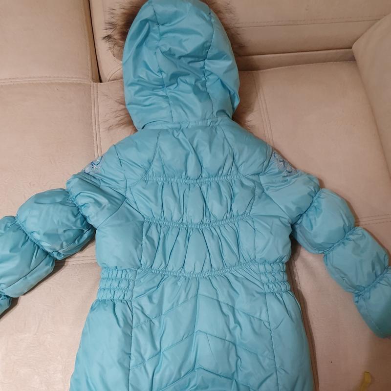 Комбинезон с курткой зима 122-140 фирма цегейка как новое - Фото 2
