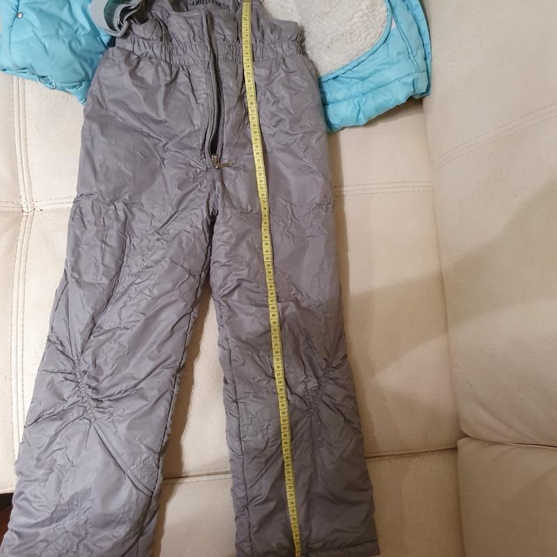 Комбинезон с курткой зима 122-140 фирма цегейка как новое - Фото 4