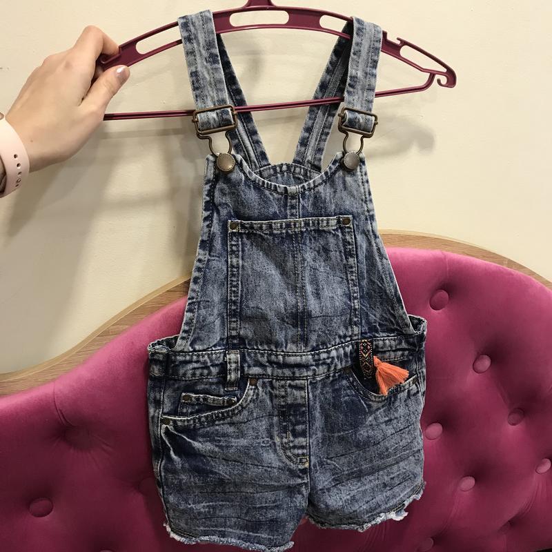 Комбинезон джинсовый next 3-4 года 104