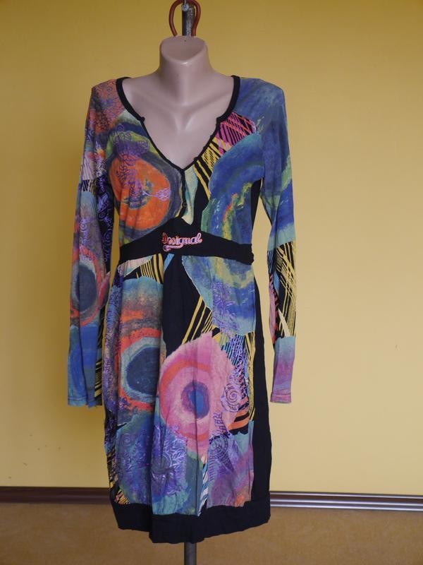 Плаття брендове на 48-50 розмір  desigual