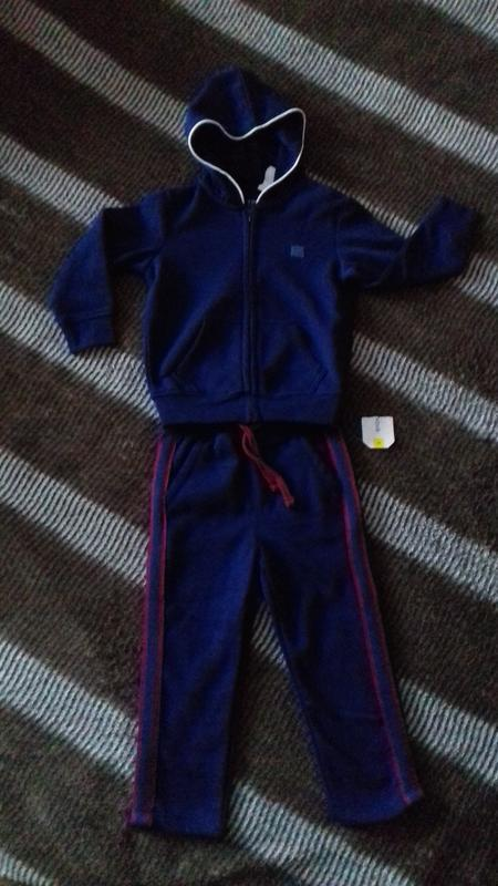 Новый спортивный костюм terranova 3-4 года, костюмчик кофта+штаны