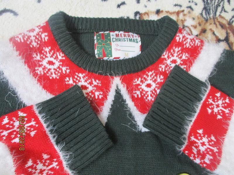 Новогодний свитер помощника санты/эльф - Фото 4