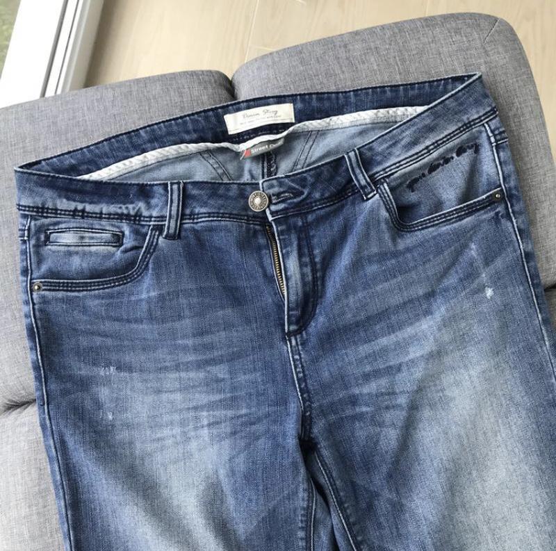 Джинсы штаны слим зауженные denim / джинси штани слім завужені