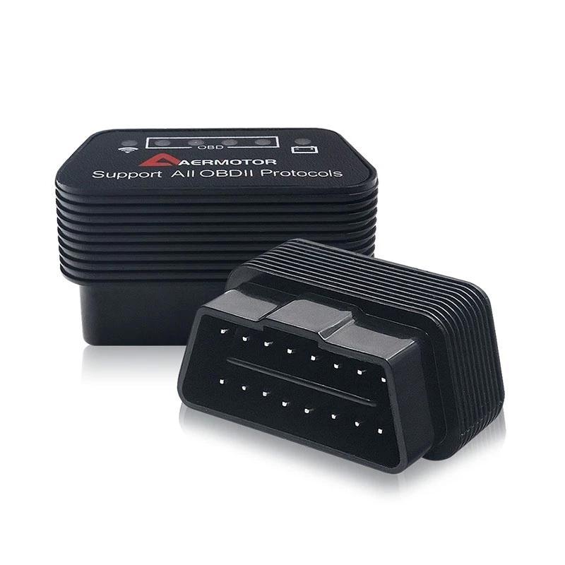 WiFi Автосканер AERMOTOR для диагностики OBD2 ELM327 V1.5