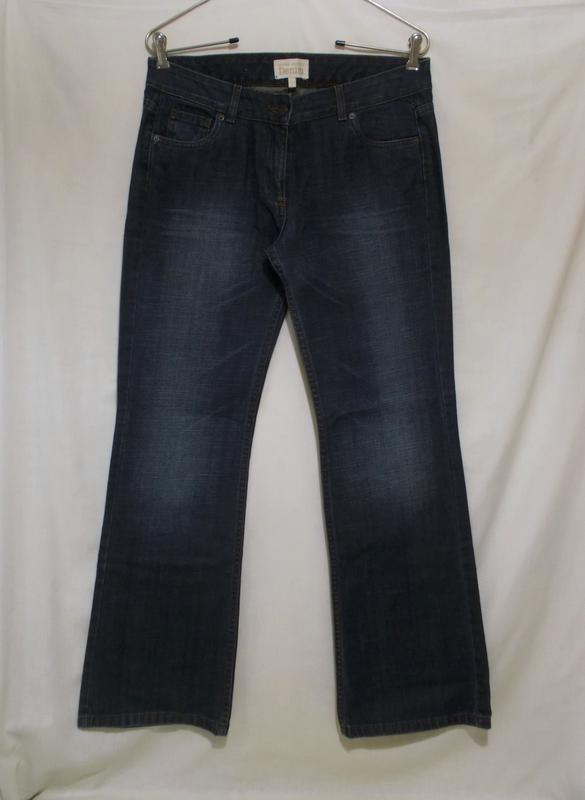 Новые джинсы синие w29-30 l32 *laura ashley* 46-48р