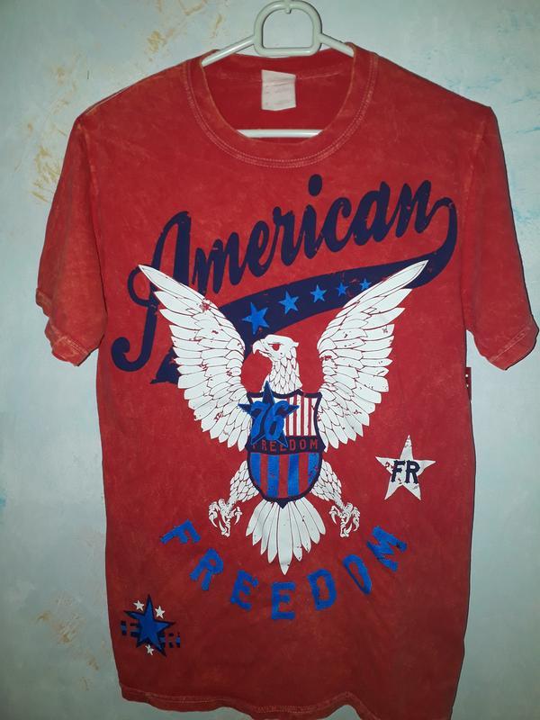 Мужская футболка american freedom