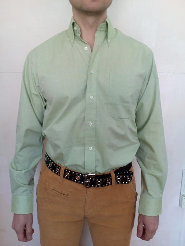 Мужская рубашка c.a.n.d.a. collection bugelfrei