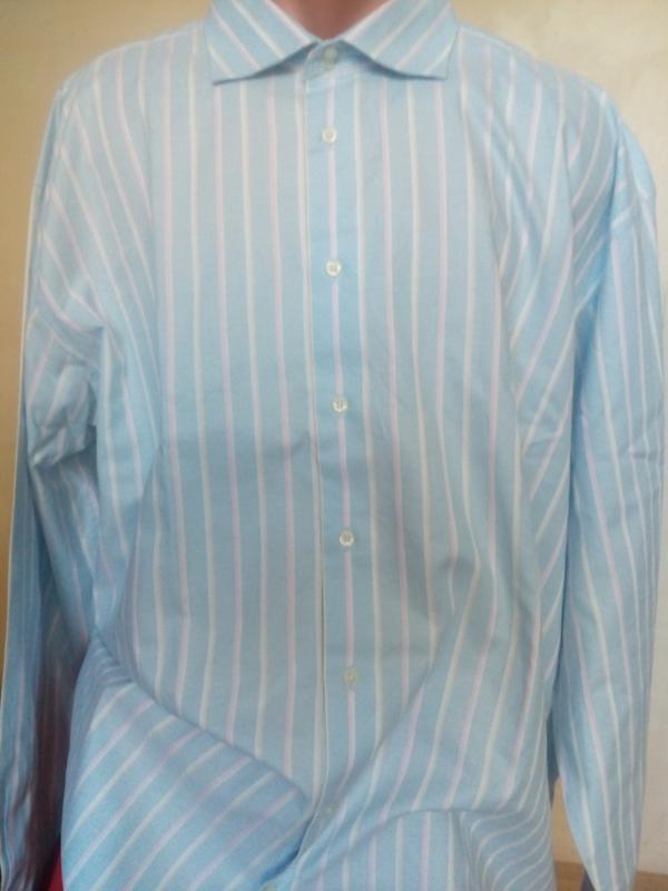 Мужская рубашка thomas nash/размер-19