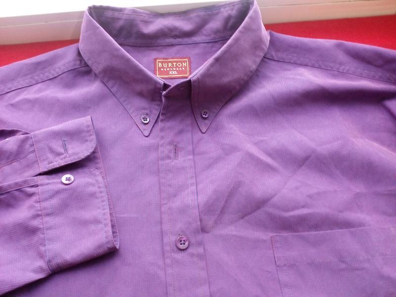 Мужская рубашка menswear размер указан-xxl/по фактуxxxl - Фото 3
