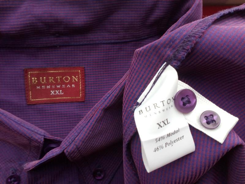 Мужская рубашка menswear размер указан-xxl/по фактуxxxl - Фото 4