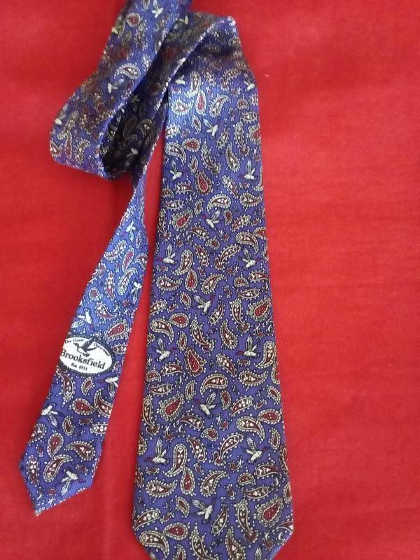 Мужской галстук brooksfield/mano
