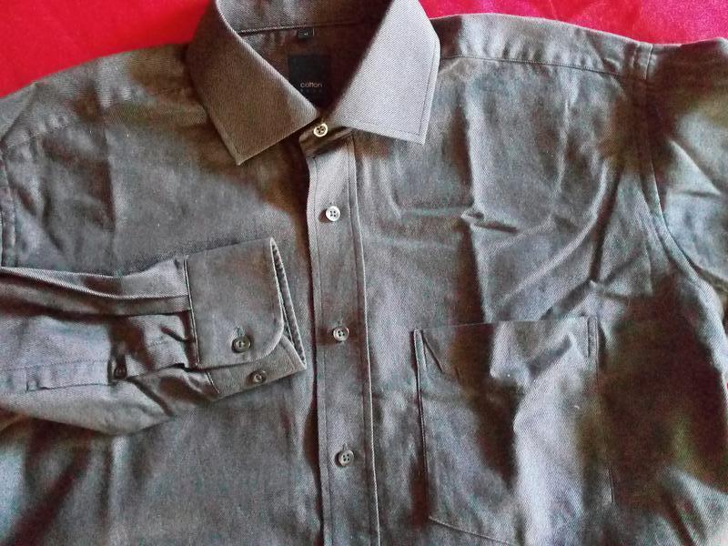 Мужская рубашка/сверяйте по размерам./41 - Фото 3