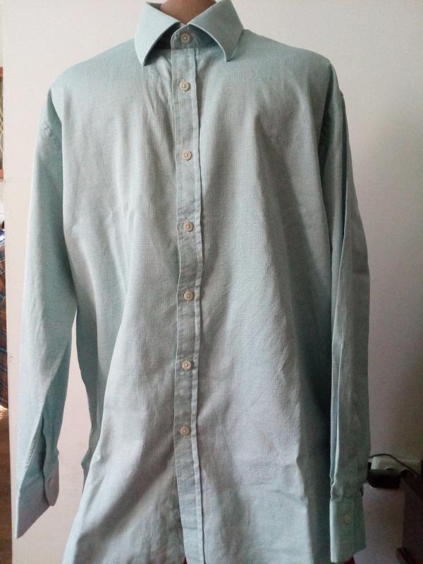 Мужская рубашка/сверяйте по размерам./17,5