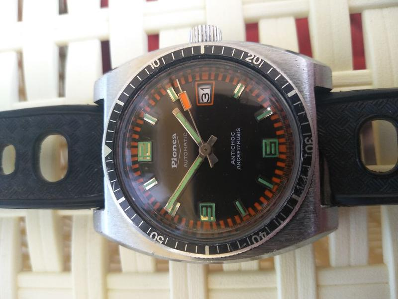 Винтаж часы годинник limited Pionca automatic ancre 17 rubis - Фото 2