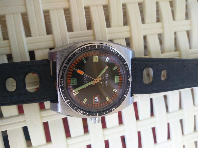 Винтаж часы годинник limited Pionca automatic ancre 17 rubis - Фото 8