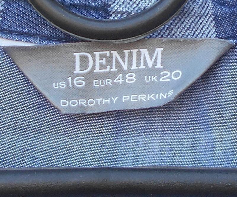 Летнее джинсовое хлопковое повседневное платье рубашка в клетку 🌿 - Фото 6