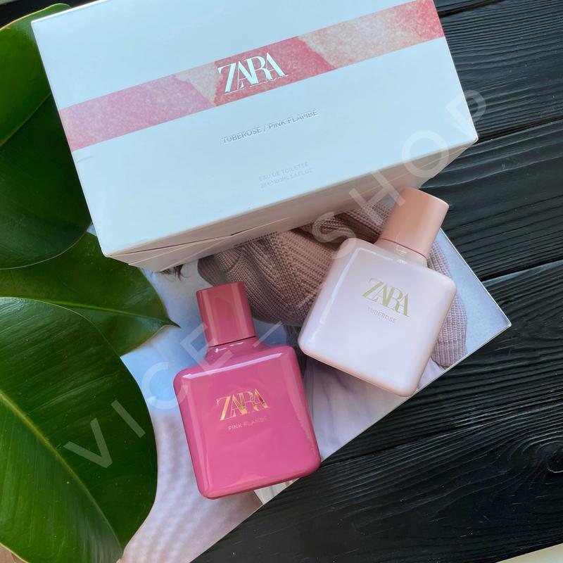Zara pink flambé tuberose духи парфюмерия туалетная вода ориги...