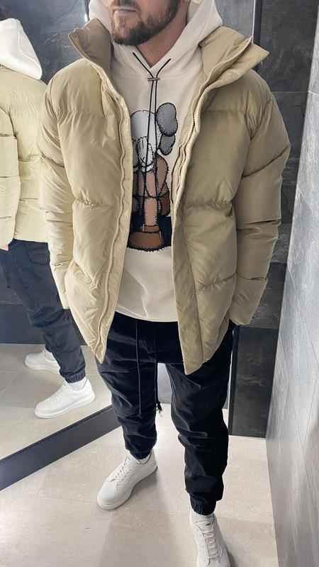 Куртка пуховик мужская стеганая еврозима / курточка пуховік чо... - Фото 2