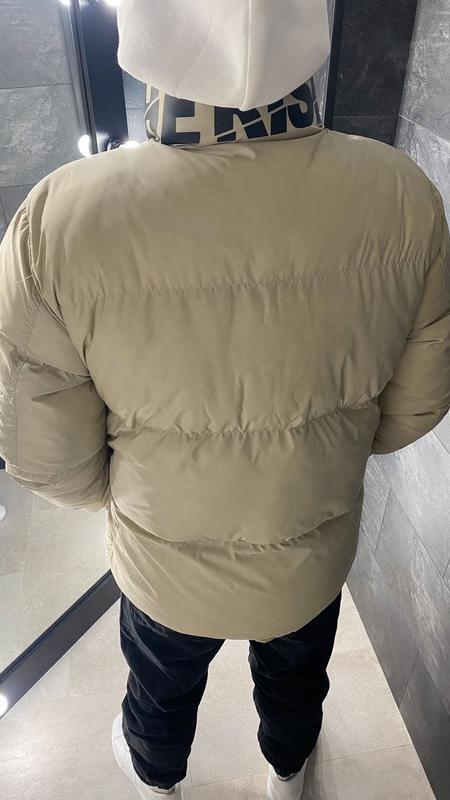 Куртка пуховик мужская стеганая еврозима / курточка пуховік чо... - Фото 3