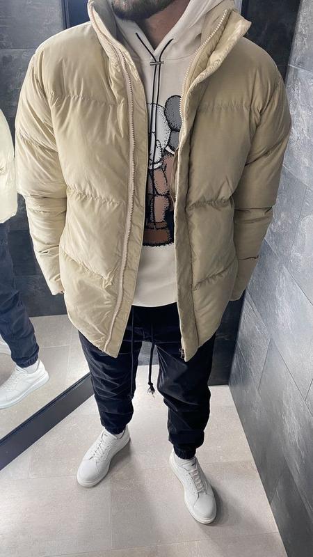Куртка пуховик мужская стеганая еврозима / курточка пуховік чо... - Фото 4