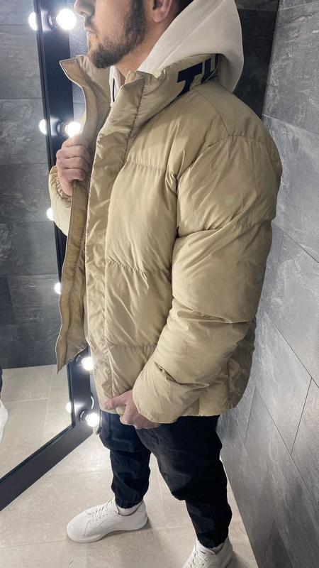 Куртка пуховик мужская стеганая еврозима / курточка пуховік чо... - Фото 5