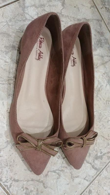 Черная пятница!туфли - балетки rebecca ashley легкие и красивы...