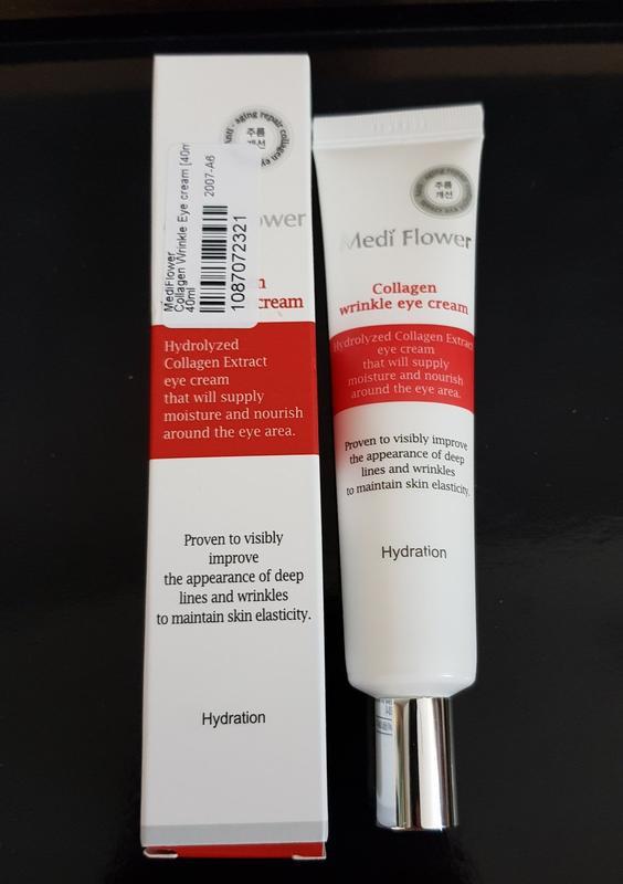 Крем с лифтинг-эффектом для кожи вокруг глаз medi flower colla...