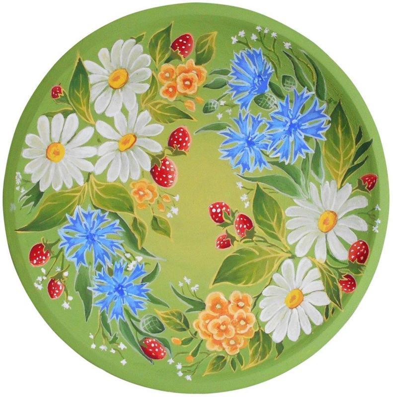 Роспись тарелок на заказ. - Фото 2