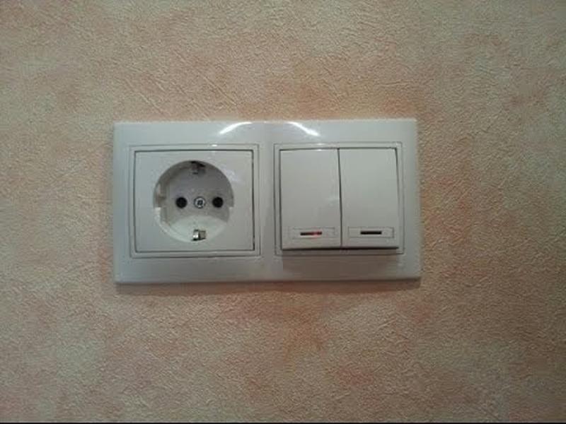 Замена или полный монтаж выключателей