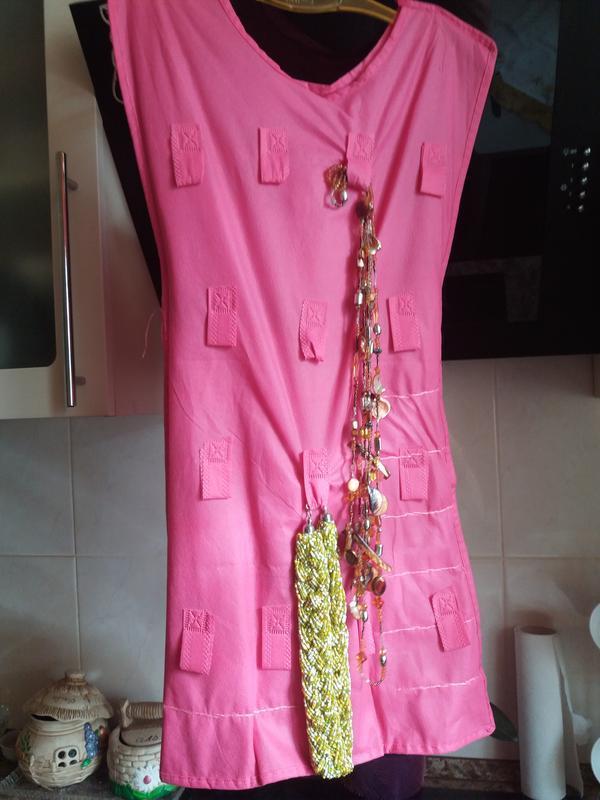 Органайзер платье для хранение украшений - Фото 3