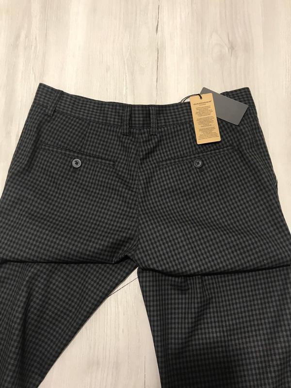 Мужские брюки в мелкую клетку - Фото 2