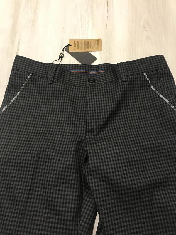 Мужские брюки в мелкую клетку - Фото 3