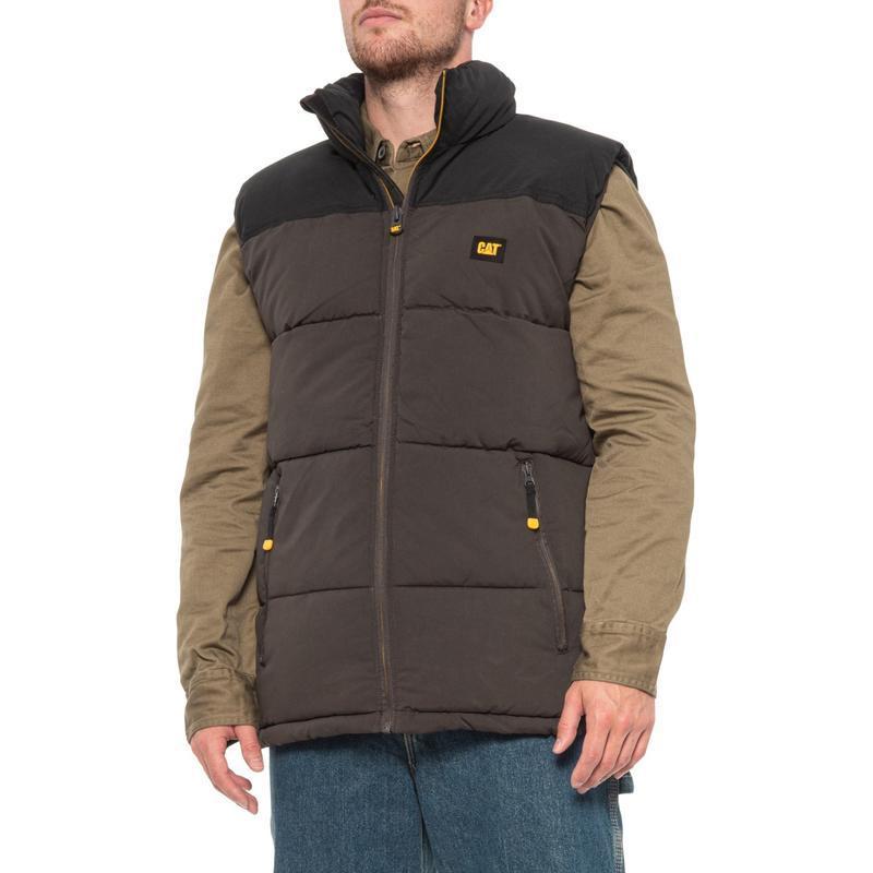 Куртка жилетка безрукавка caterpillar arctic zone vest оригина...