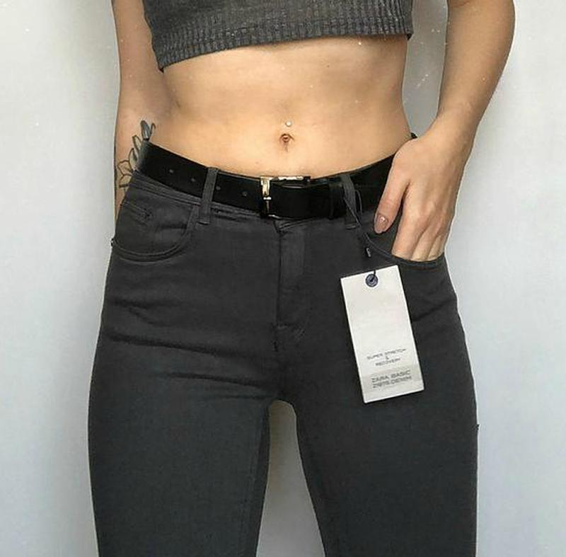 Обалденные базовые узкие джинсы zara